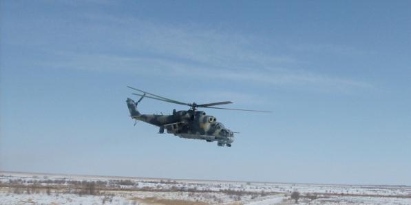 Вертолет Гарнизон Черниговка